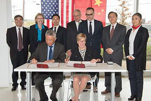 su nju center coeagreement signing
