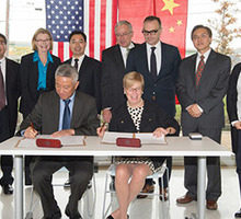 syracuse university and nanjing university establish international center